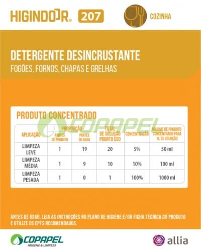 ADESIVO HIGINDOOR 207 - 8x10cm -  PRODUTO CONCENTRADO