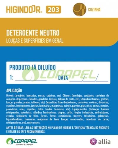 ADESIVO HIGINDOOR 203 - 8x10cm -  PRODUTO DILUÍDO